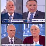 Québec : Élection du premier ministre : Les chefs se sont tiré la langue 92 FOIS !